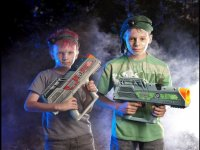 Nuestros guerreros laser