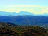 La comarca Nororiental desde arriba