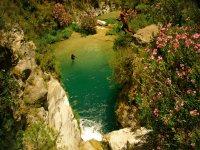 A river with unique beauty