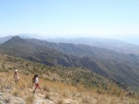 Walking on Andalusian trails