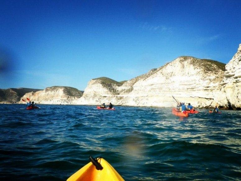 jornada en kayak