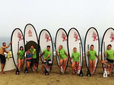 Feel Surf Camp Las Palmas Paddle Surf