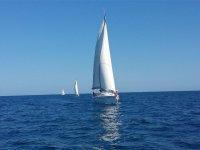 Paseo en velero por las costas de Alicante