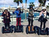 Excursion de chicas en segway