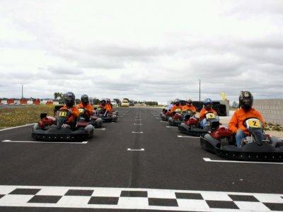 Carrera de karting GP3 para grupos, Fuensalida