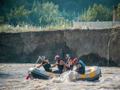 Rafting sul fiume Genil + alloggio in bungalow