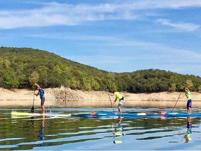 Paddle Surf Sierra Norte de Madrid in privato