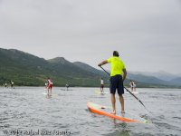 Private stand up paddle surfing north Madrid
