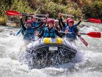 Breve sezione di rafting e sistemazione dei bambini Genil