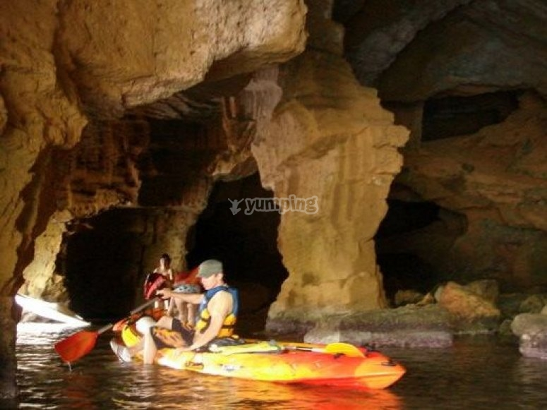 Kayaking in Denia