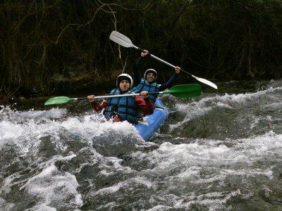 Descenso del río Cabriel en canoa-raft 2 horas