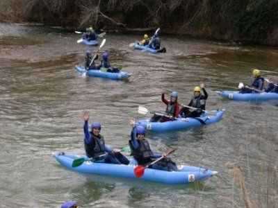 Paseo en kayak en el pantano de Contreras 2 horas