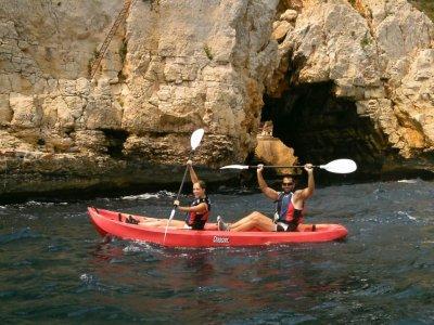 Salida en kayak por la playa de Jávea 1 hora