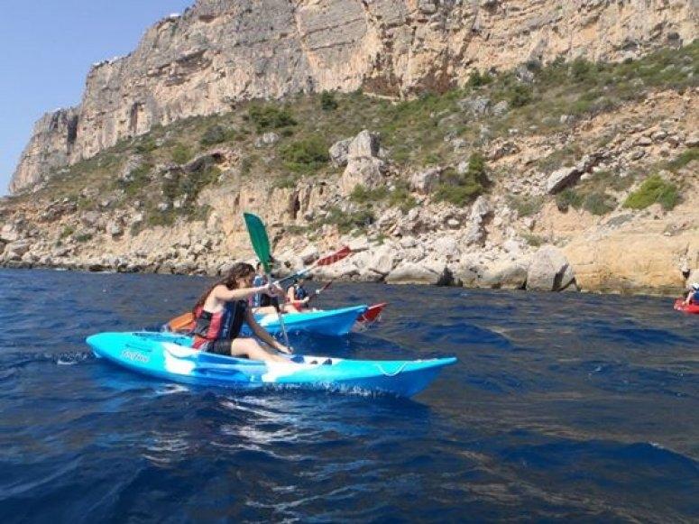 Kayak en Javea