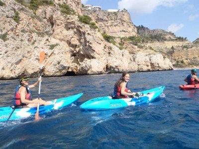 Salida en kayak por la playa de Javea o Dénia