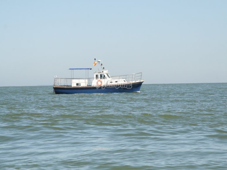 奇克拉纳乘船游览