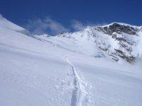 El rastro del esqui