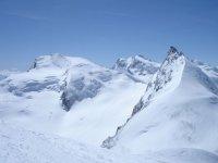 Elegiendo el tramo a esquiar