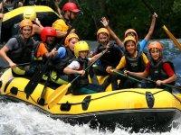 Descenso de rafting en el Ebro