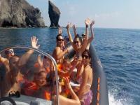 Excursión en barco + snorkel en Cabo de Gata