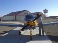 Uno de nuestros aviones cabinados