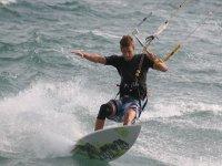 风筝冲浪的风筝风筝冲浪萨尔托斯