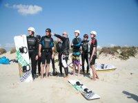 塔里法的风筝冲浪课程