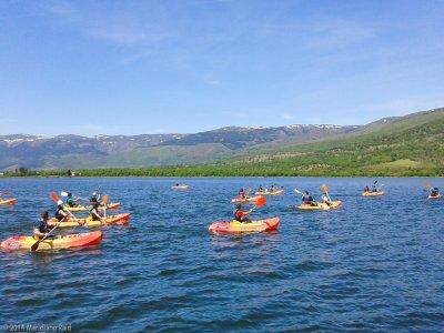 Iniziazione alla canoa a Lozoya 2 ore