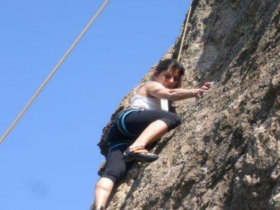 Curso iniciación a la escalada en Sierra Alhamilla