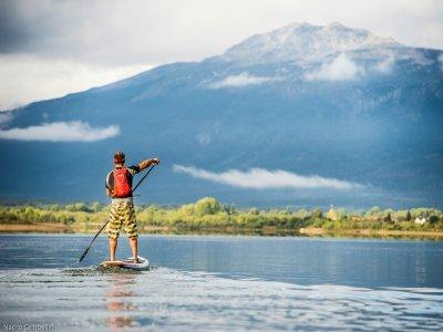 Iniciación al paddle surf en Lozoya 1 hora