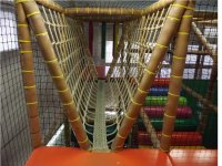 Hanging bridges inside the maze of games