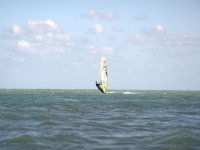 Windsurfing in the Levante