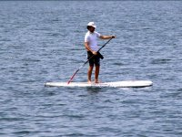 Sup in flat waters