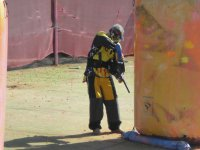 Campo de speed paintball