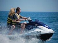 Rent a two-seater jet-ski, Calella, 15min