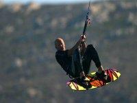 Doing a kite
