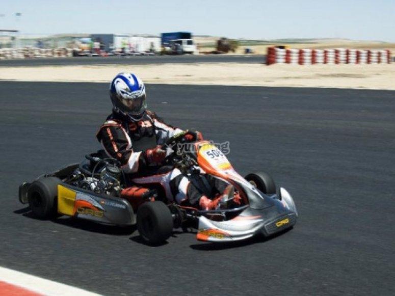 Karting en Nava del Rey