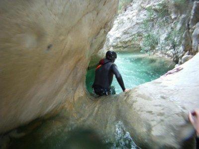 Barranco acuático de iniciación en Alicante 6-8h