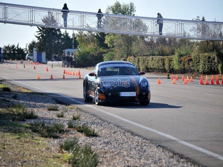 Corso di pilotaggio Porsche
