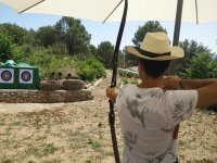 Archery with two targets