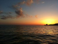 阿尔比尔的日落