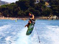 Piruetas con el wakeboard