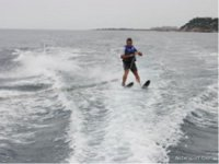 The water skiing will not leave you indifferent