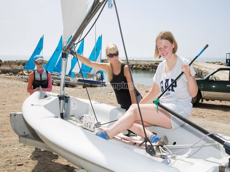 准备在卡莱利亚航行--999-在卡莱利亚的双体船航行