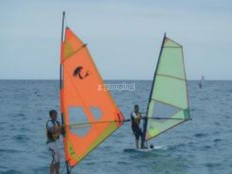 Windsurfing