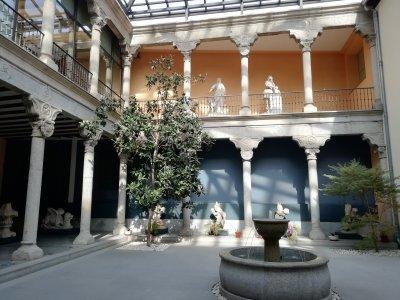参观马德里的San Isidro博物馆
