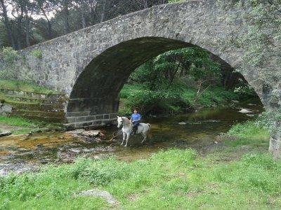 2h de ruta a caballo por La Adrada