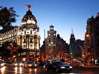 Visita guiada Callao, Gran Vía y Plaza de España