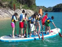 Paddel Surf for groups