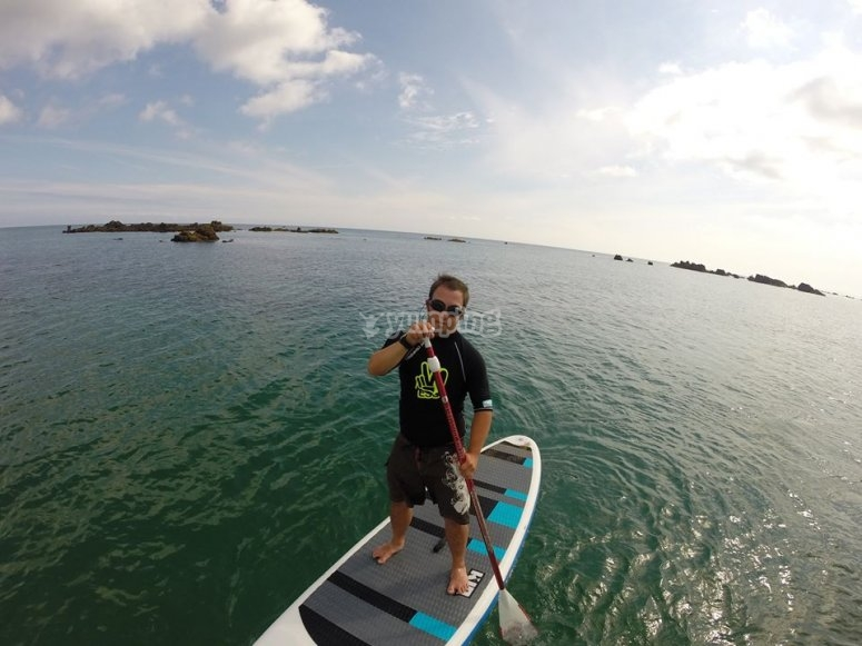 paddle surf travesia de 2 horas Noja